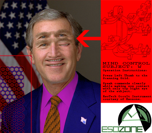 mind control subject george bush