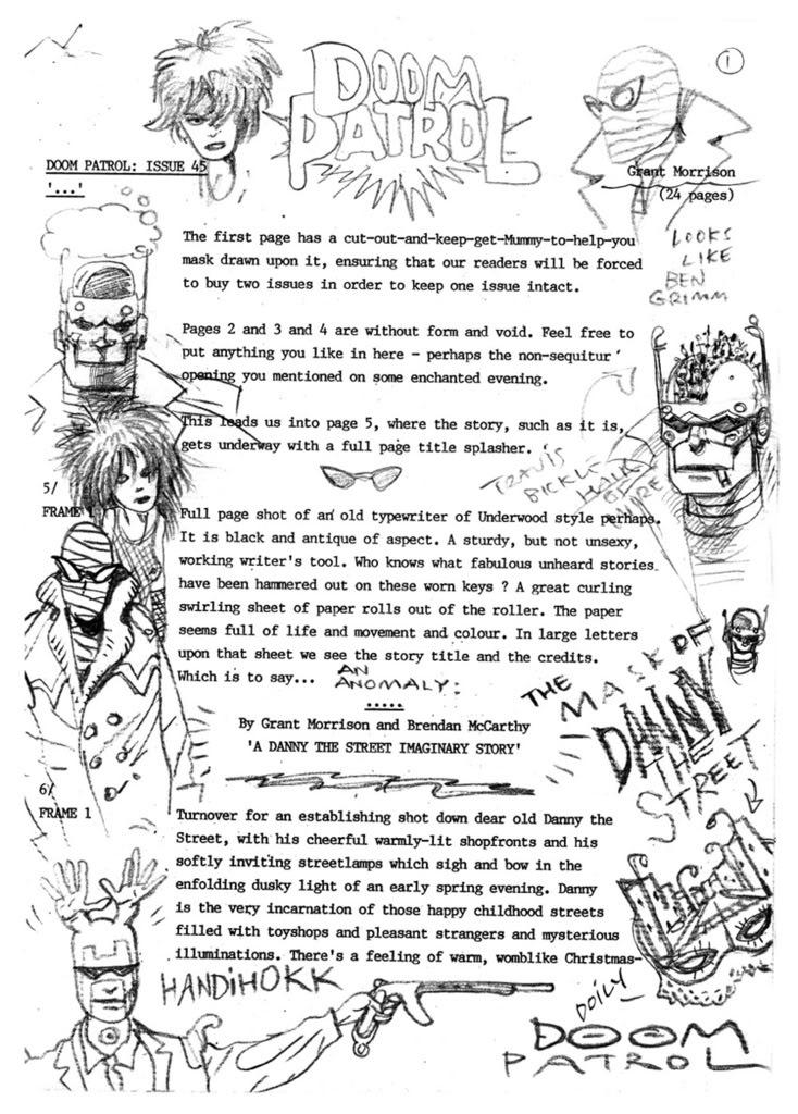 Lost Doom Patrol script