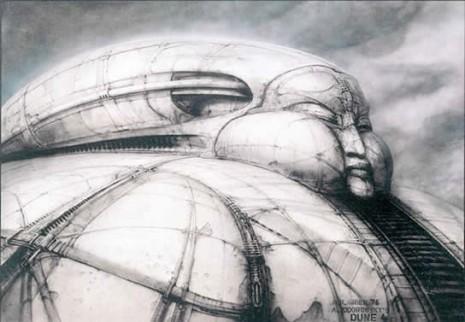 giger jodorowsky dune design