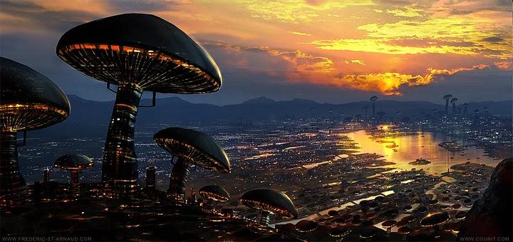 'Shroom City, by Frederic St. Arnaud