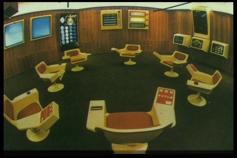 Cybersyn control room