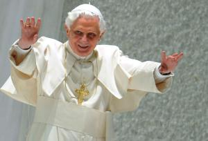 The fuckin' Pope