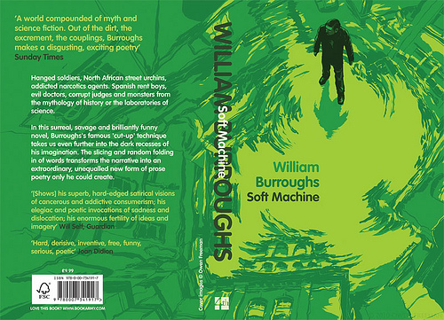 William S. Burroughs Soft Machine cover by Owen Freeman