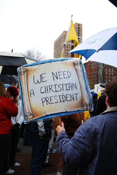 Tea Party: We Need a Christian President