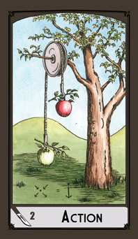 Science Tarot: 2 of Swords - Action