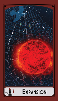 Science Tarot: 7 of Wands - Expansion