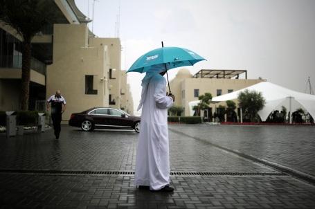 Abu Dhabi rain