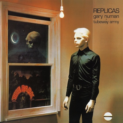 Gary Numan Replicas cover