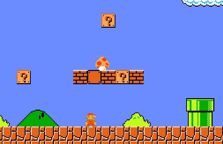 Mario Super Mushroom