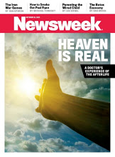 "Newsweek cover: ""Heaven Is Real"""