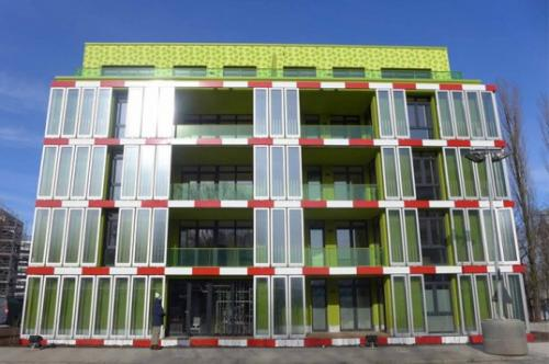 world's first algae powered building