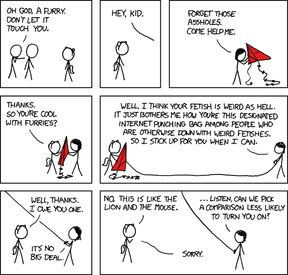 XKCD on furries
