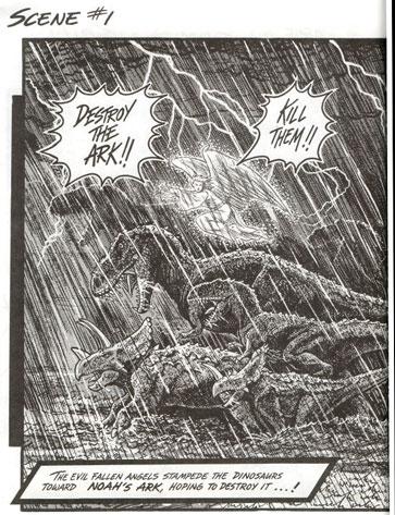 dinosaurs attack noahs ark